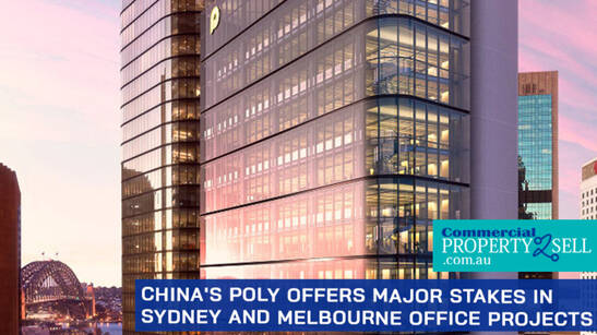 China's Poly Offers Major Stakes in Sydney and Melbourne Office Projects
