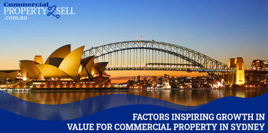 5 Factors Inspiring Growth in Values for Commercial Property in Sydney