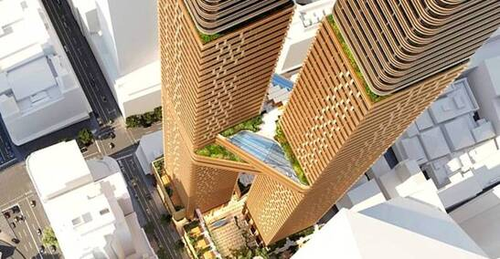 Scape Lodges Plans for Five Student Towers in Sydney