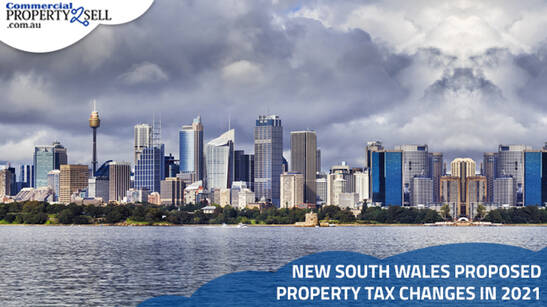 New South Wales Proposed Property Tax Changes in 2021