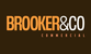 Brooker & Co. Commercial logo